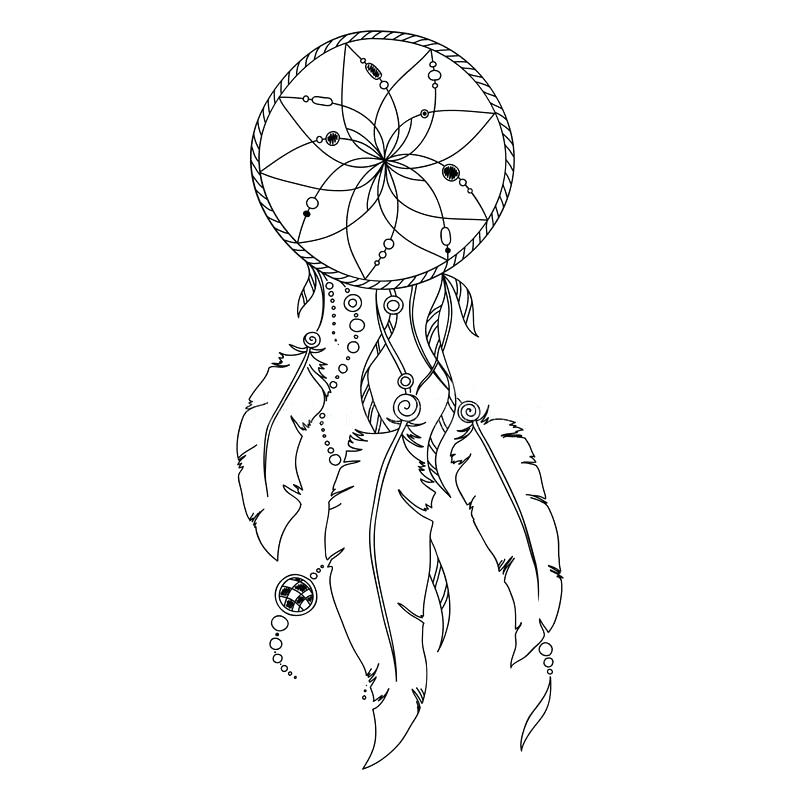 Dreamcatcher Mandala Coloring Pages At Getdrawings Free
