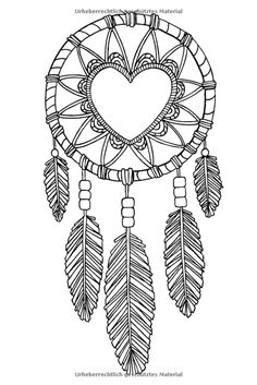236x353 Dream Catcher Adult Coloring Page Dream Catchers, Adult Coloring