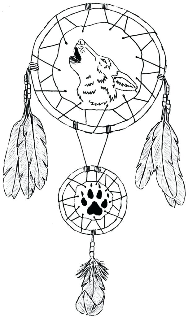 607x1024 Dream Catcher Coloring Pages For Adults Easy And Fun Coloring