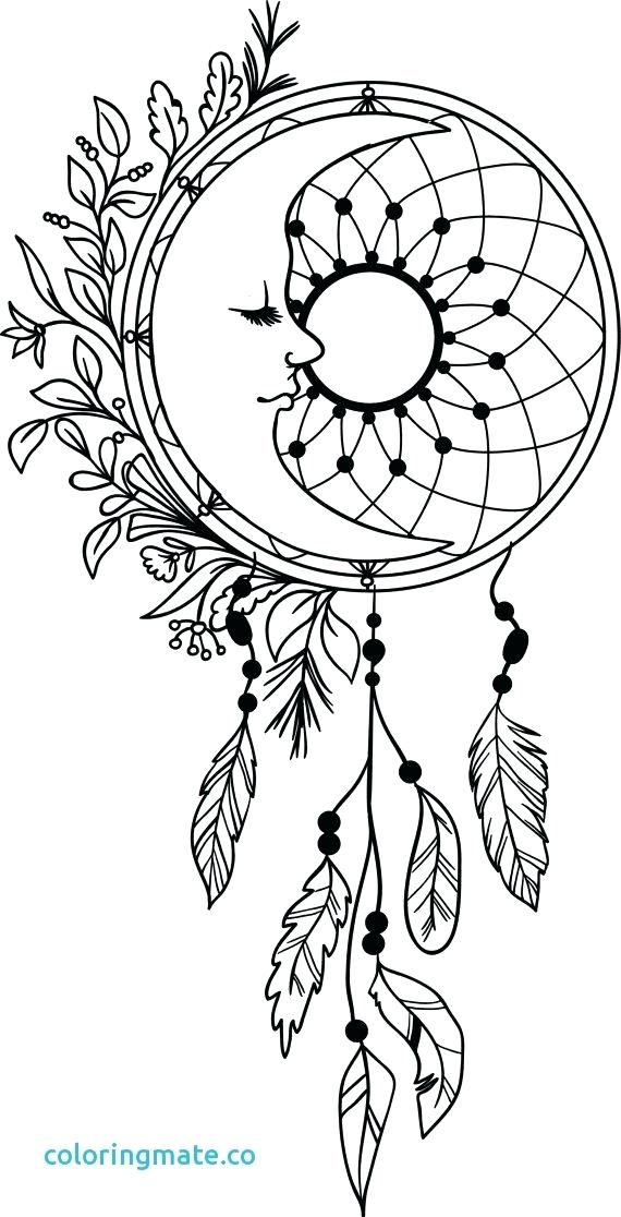 570x1116 Dreamcatcher Coloring Pages Coloring Pages Beautiful Coloring
