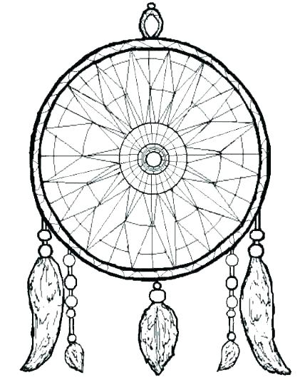 421x533 Coloring Pages Moon Dreamcatcher Thanksgiving Mandala Of Simple