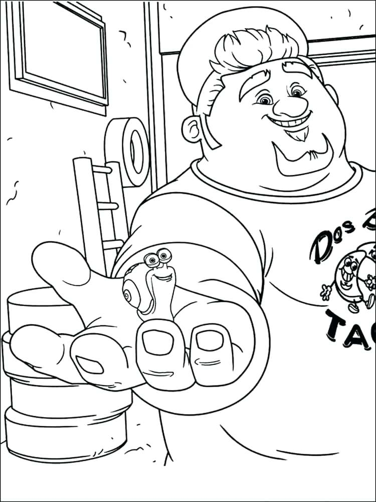 750x1000 Dreamworks Coloring Pages Turbo Coloring Pages Free Dreamworks
