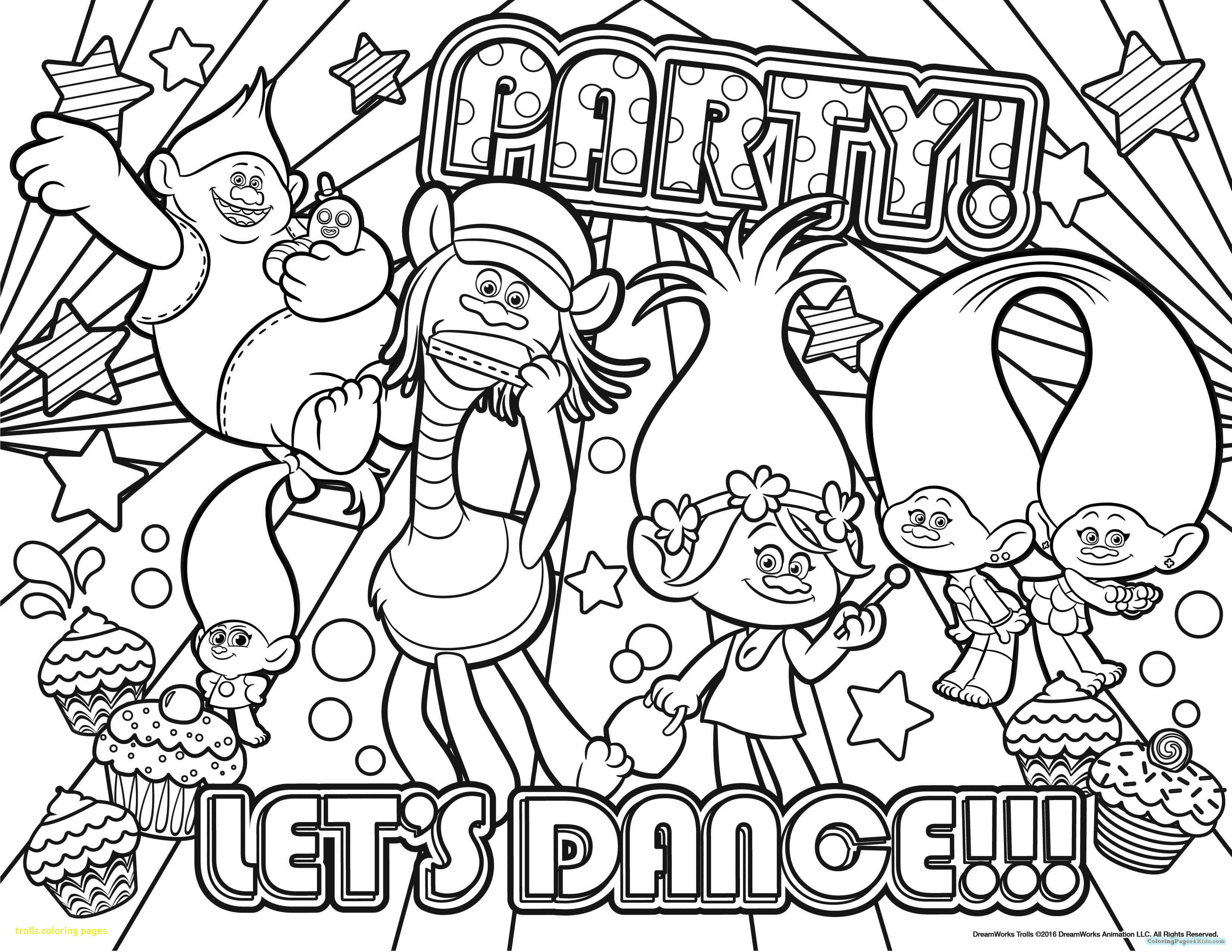 3300x2550 Trolls Coloring Pages With Trolls Dreamworks Coloring Pages