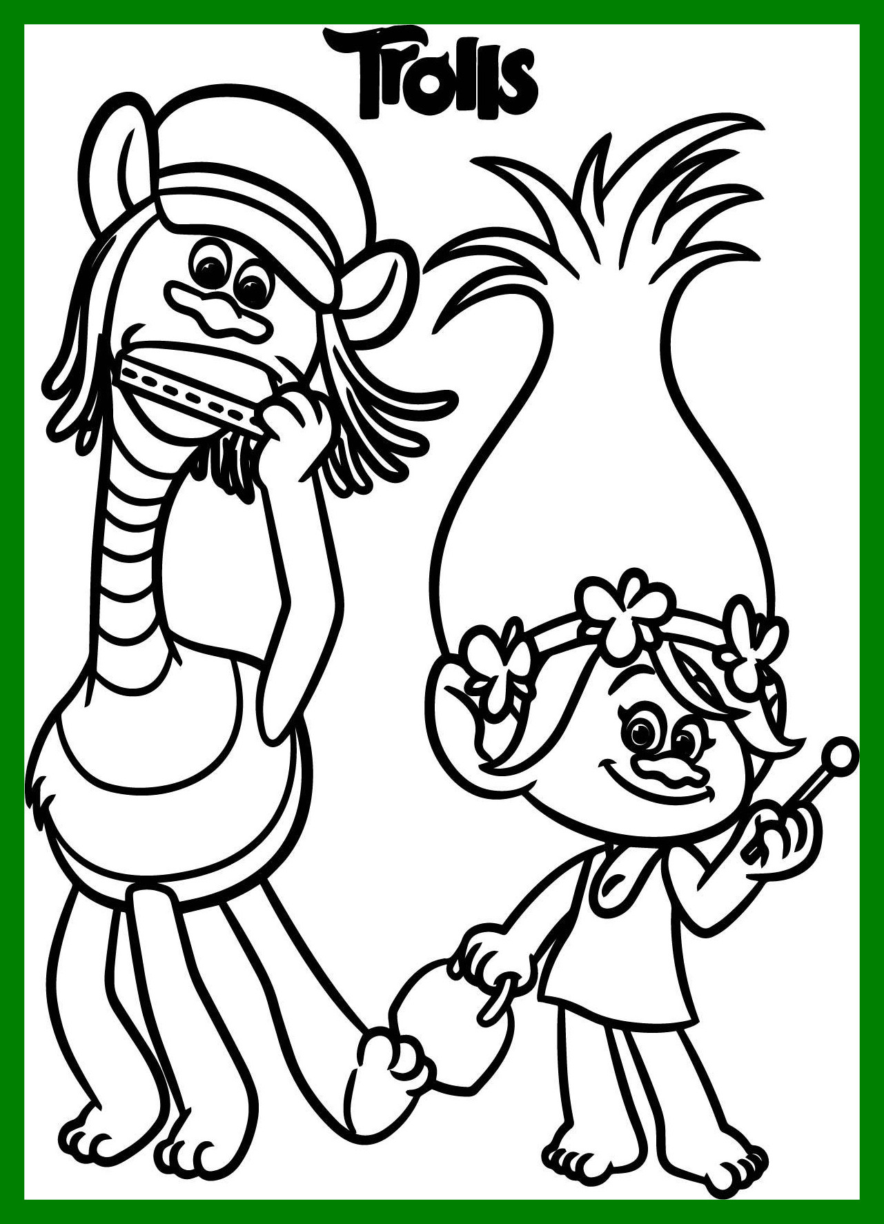 Dreamworks Trolls Coloring Pages at GetDrawings | Free ...