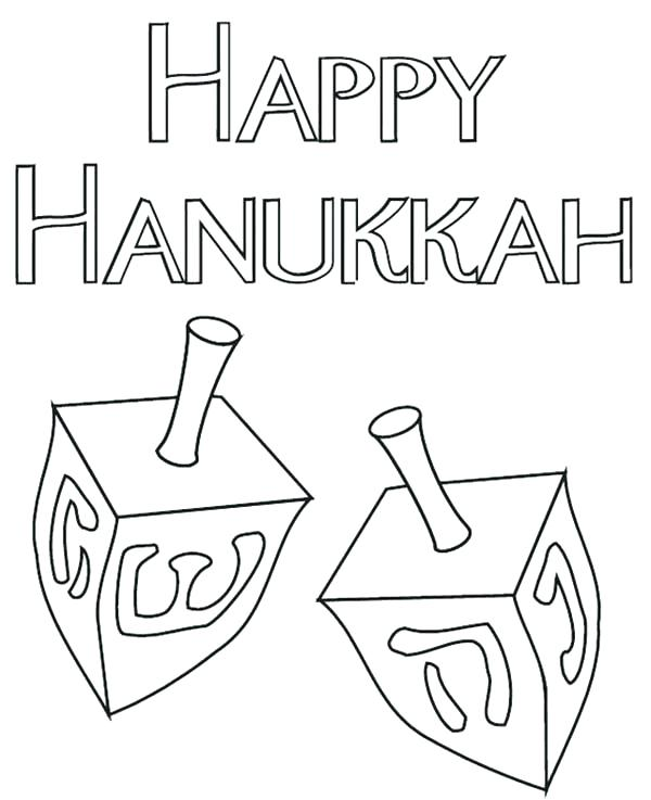 picture about Dreidel Printable named Dreidel Coloring Internet pages at  Free of charge for