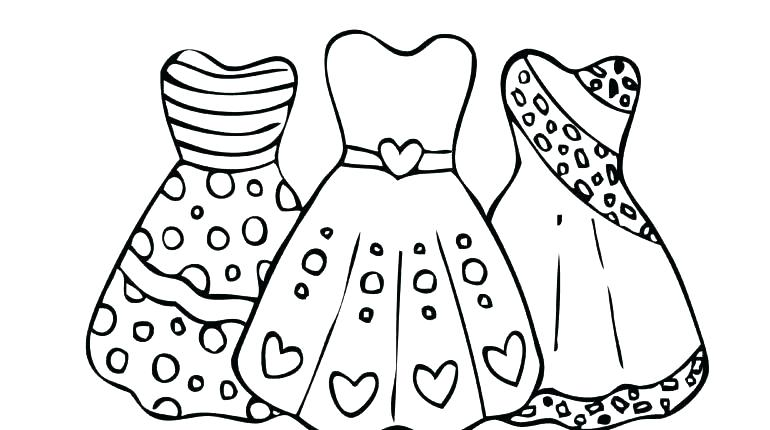 770x430 Coloring Pages Princess Coloring Page Princess Dress Coloring Page