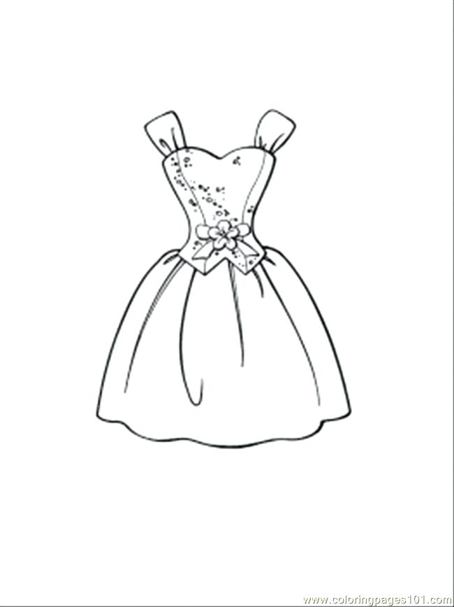 650x868 Dresses Coloring Pages Awesome Dress Coloring Pages In Coloring