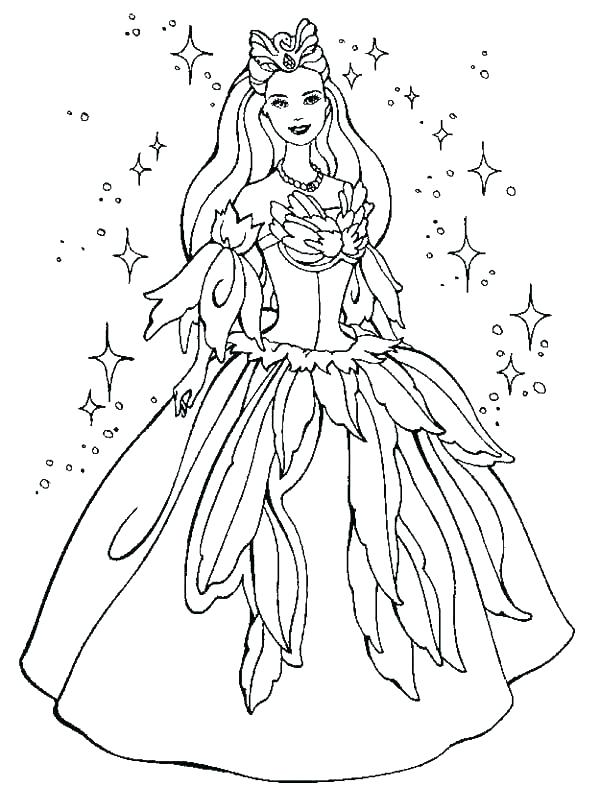 600x811 Dresses Coloring Pages Dress Mice Coloring Page Barbie Dress Up