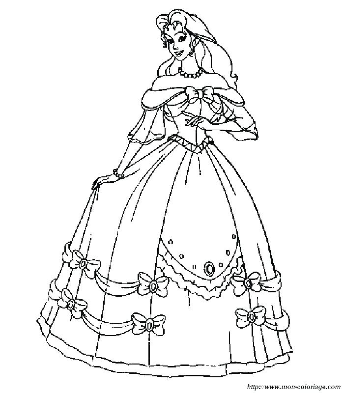 700x800 Dress Up Coloring Pages For Girls Page Image Clipart Images