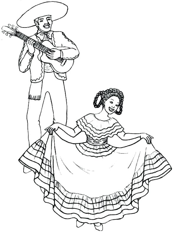 600x788 Dresses Coloring Pages Little Girl Wearing Dress Coloring Pages
