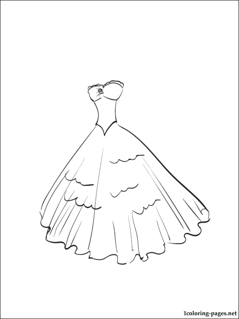 765x1024 Dress Coloring Page Dress Coloring Page Dress Coloring Pages