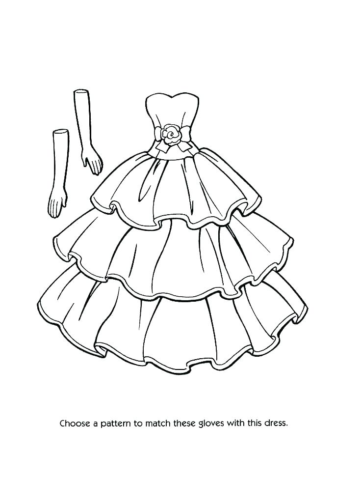 736x981 Dress Up Coloring Pages Coloring Pages Dresses Dress Up Coloring