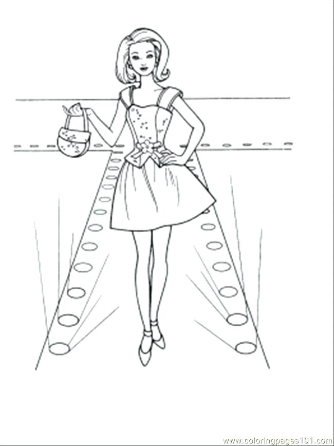 650x868 Coloring Pages For Fashion Designers Best Clothing Dress