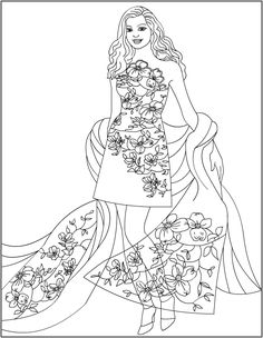 236x304 Fashion Cilouring Pages Colouring Pages