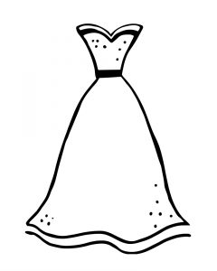 240x300 Delightful Design Coloring Page Dress Coloring Page Of A Dress