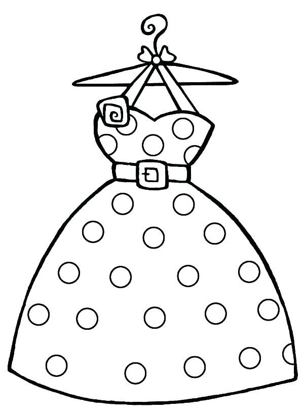 600x816 Dress Up Coloring Pages Dress Up Coloring Pages Barbie Dresses