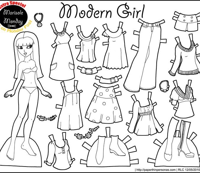 678x588 Dress Up Coloring Pages To Print Dress Up Printouts Coloring Pages