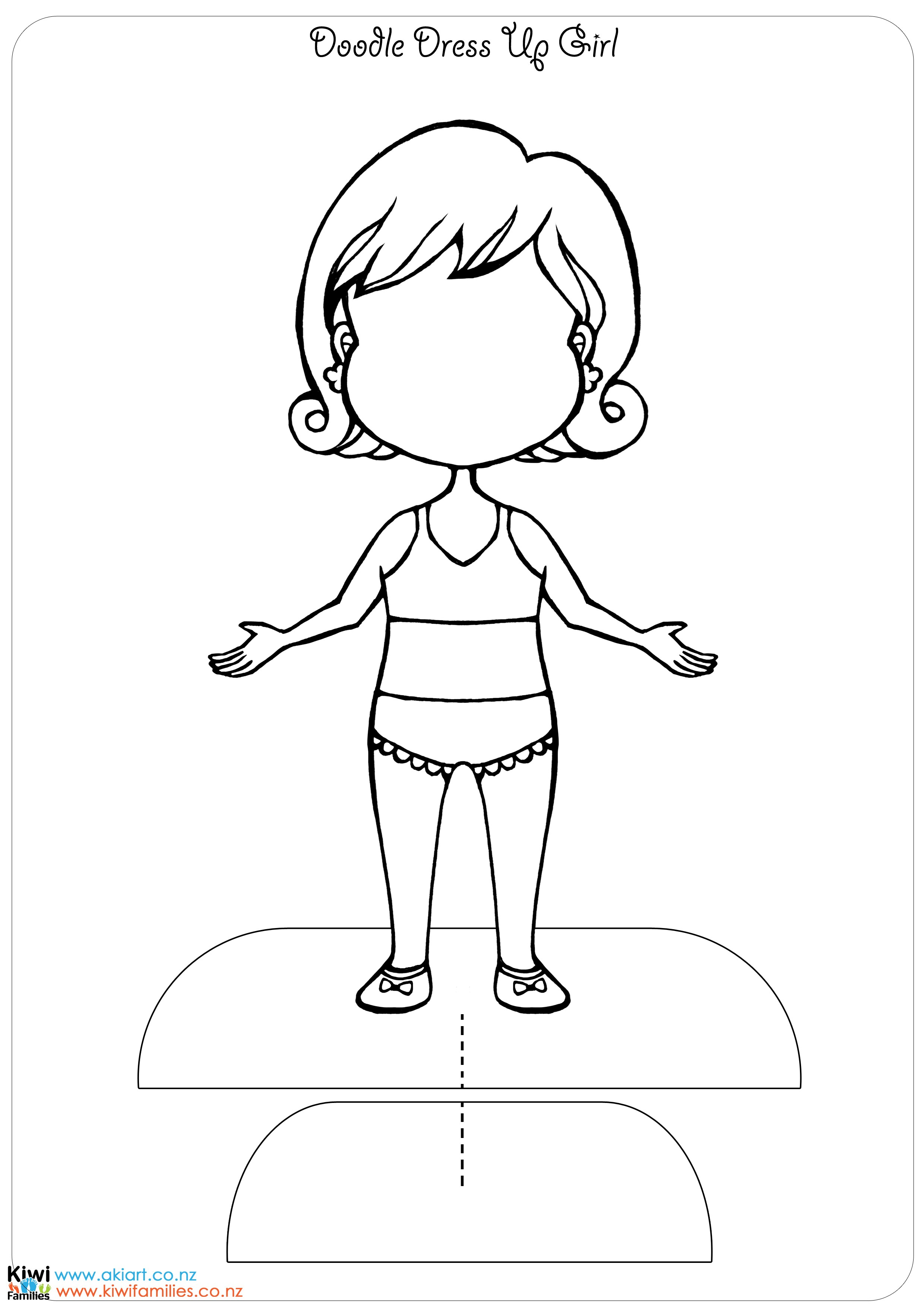 2480x3508 Doll Dress Coloring Page For Girls Best Of Dress Up Doll Coloring