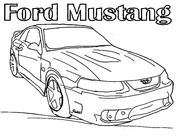 600x464 Car Mustang Coloring Pages Best Place To Color