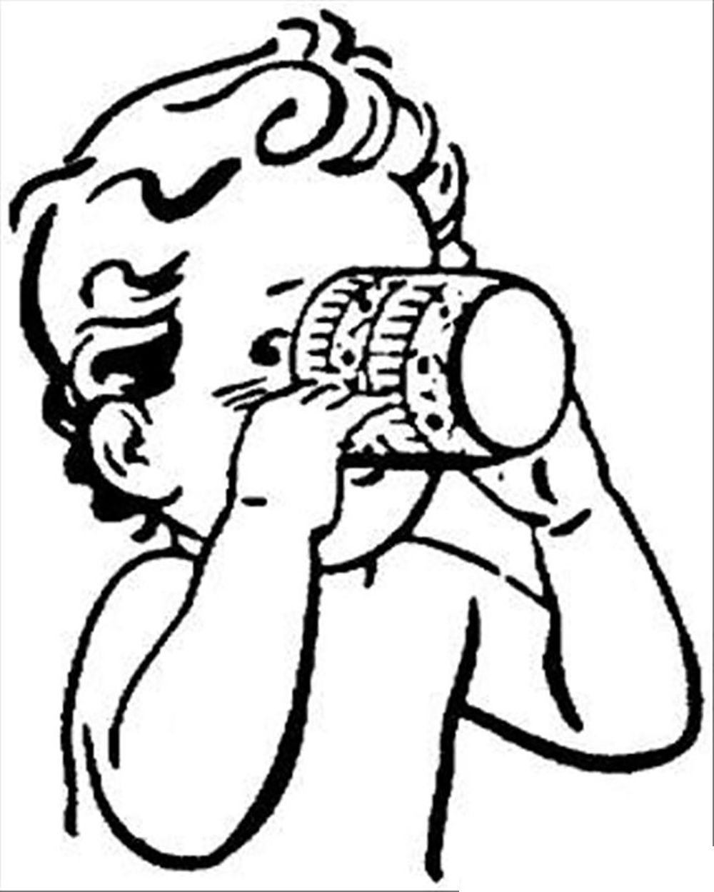 1000x1249 The Child Is Drinking Water Drinks Coloring Pages