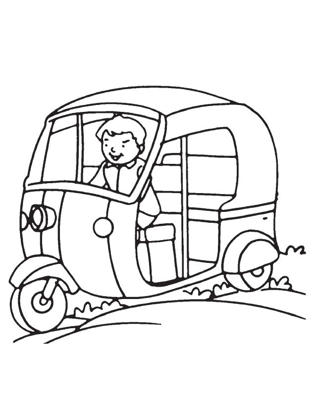630x810 Auto Coloring Pages Driving Auto Coloring Page Download Free