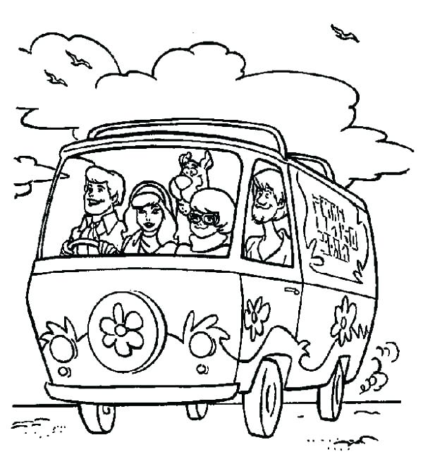 600x651 Coloring Pages Of Scooby Doo Good Coloring Pages Best Of Driving