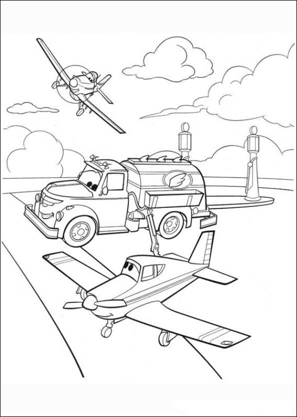 595x834 Kids N Coloring Pages Of Planes