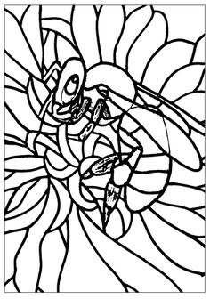 236x336 Records Drone Bee Coloring Pages Mosaics And Stepping Stone
