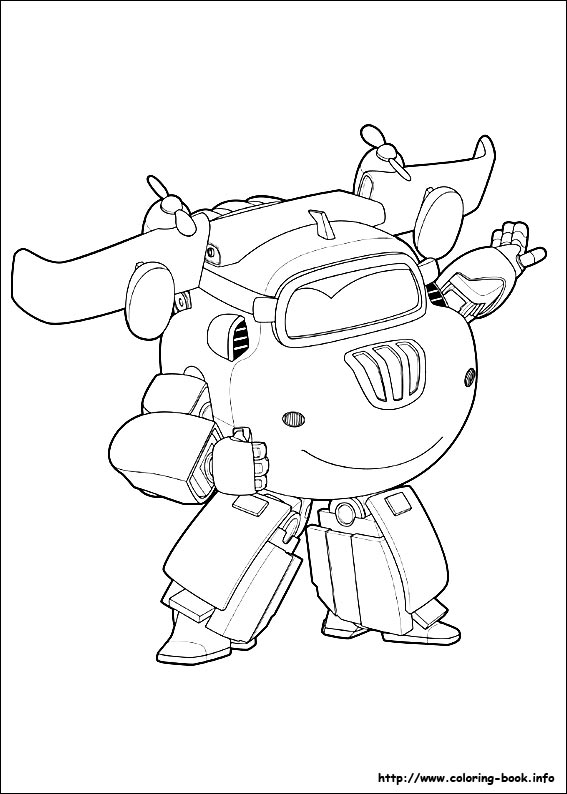 567x794 Super Wings Coloring Pages On Coloring