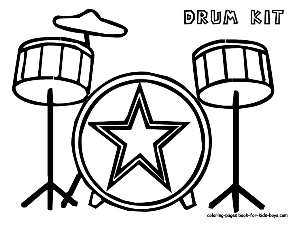 1024x791 Drum Coloring Page Coloring Pages Drum