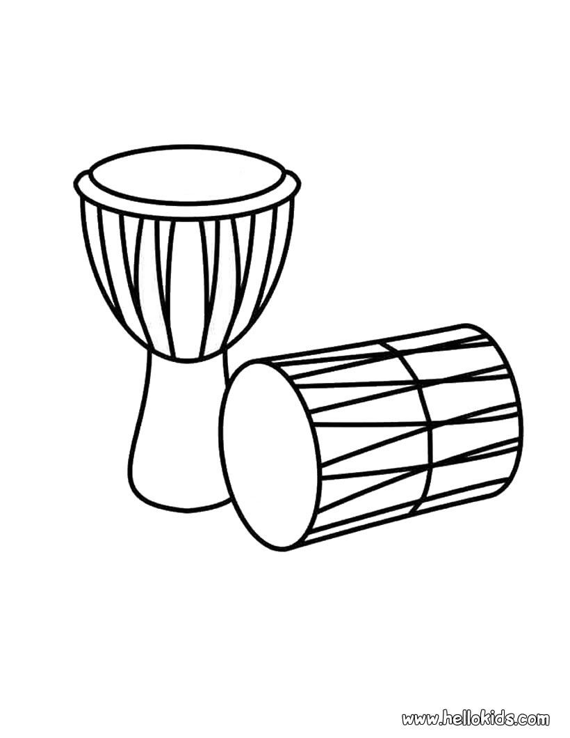 820x1060 Drums Coloring Page Coloring Pages Drums And Kwanzaa