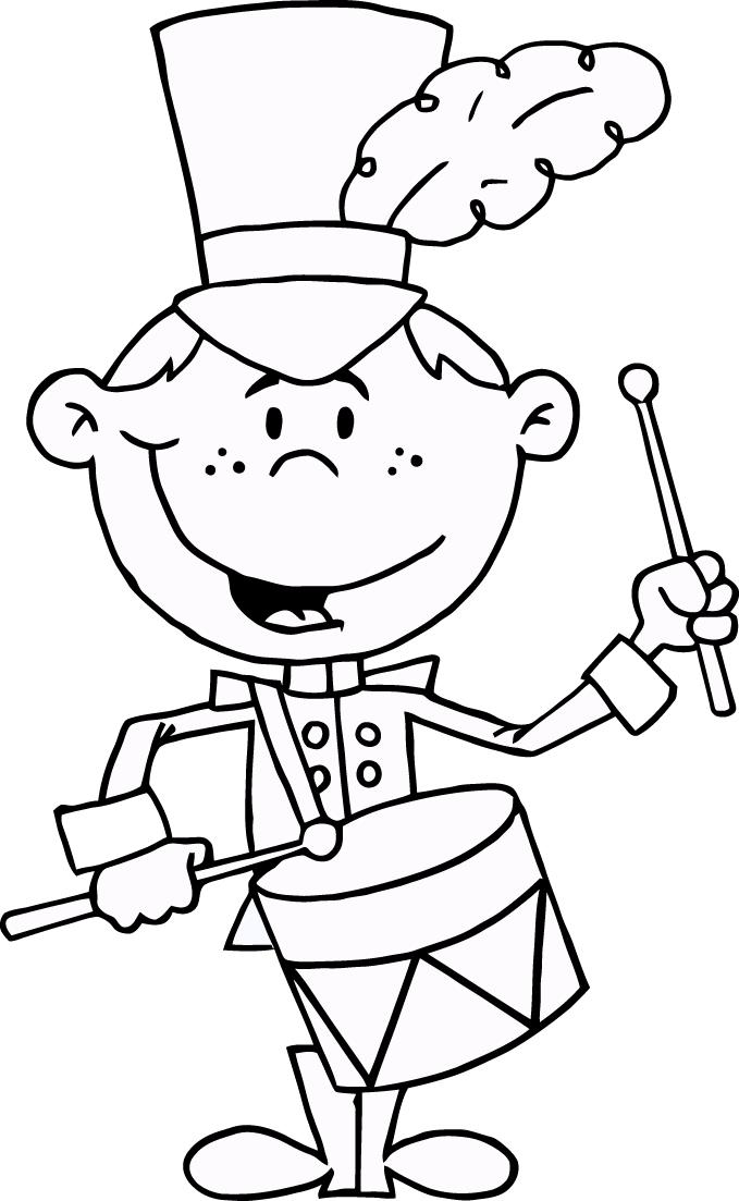 679x1103 Drummer Drumming Coloring Pages For Kids