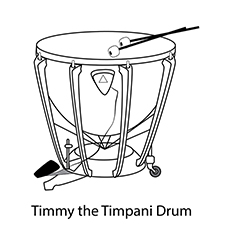 230x230 Best Drums Coloring Pages For Your Little One