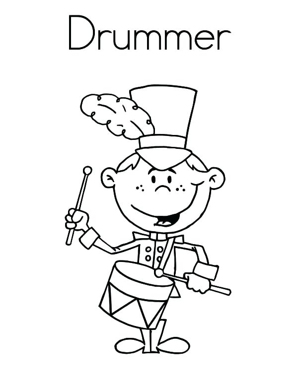 600x776 Drum Coloring Pages Coloring Page Drum Drum Set Coloring Pictures