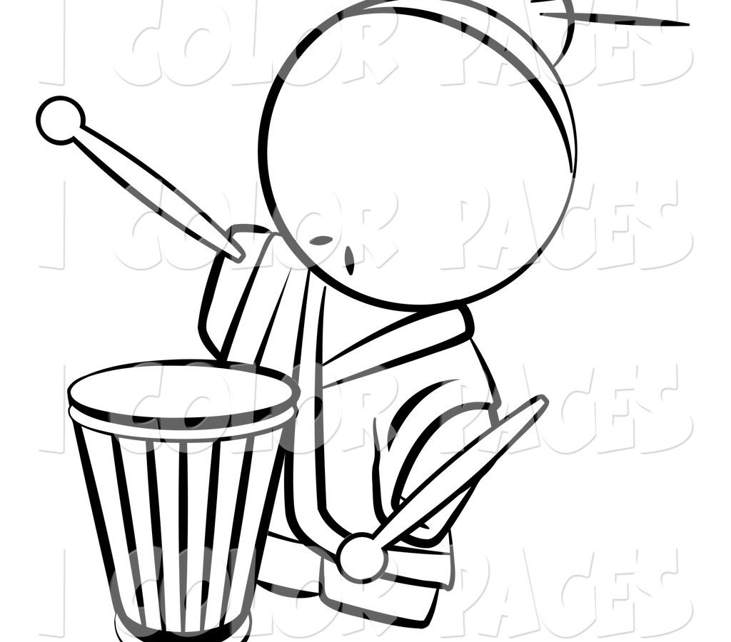 1024x900 Drawn Instrument Snare Drum For Marcing Band Free Printable