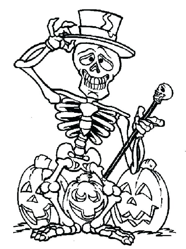 Dry Bones Coloring Pages