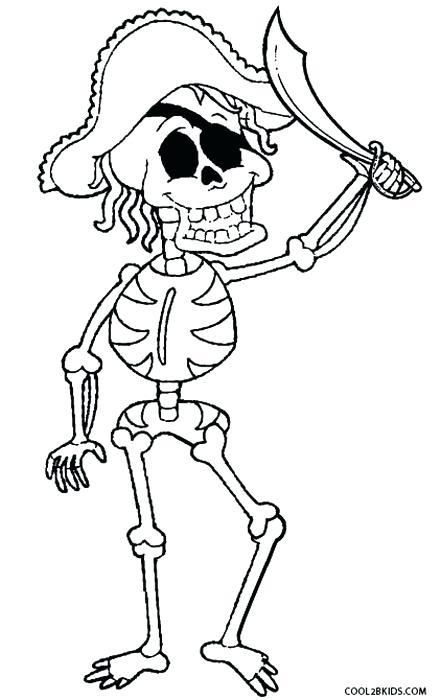 441x700 Pirate Skeleton Coloring Pages Vanda
