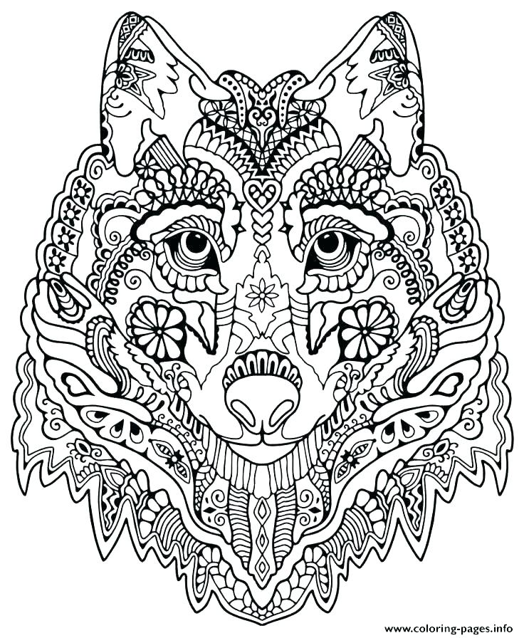 736x896 Download Wolf Pictures To Color Free Printable Coloring Pages