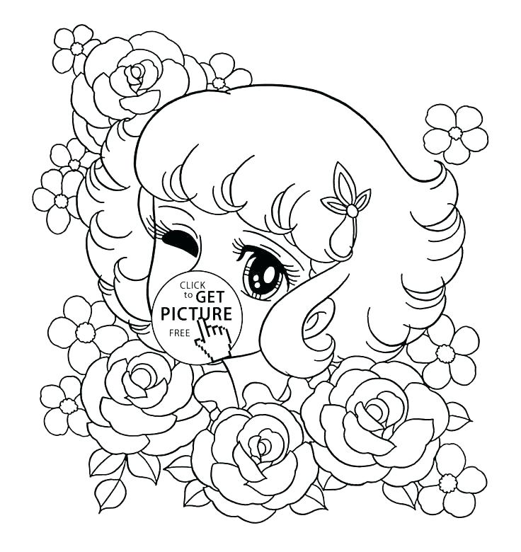736x780 Flower Coloring Pages Free