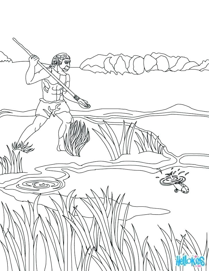 728x941 Duck Hunting Coloring Pages Hunting Coloring Pages Deer Coloring
