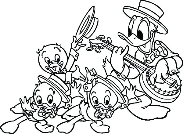 600x439 Ducktales Coloring Pages Coloring Pages Coloring Pages And Uncle