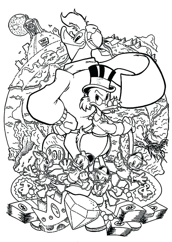 600x841 Ducktales Coloring Pages Coloring Pages Coloring Pages Ideas