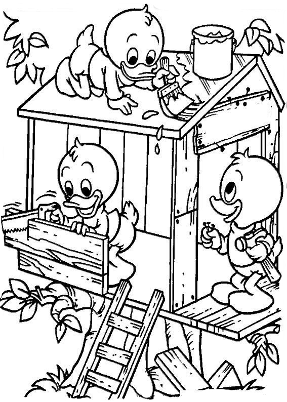 567x794 Ducktales Coloring Pages To Download And Print For Free