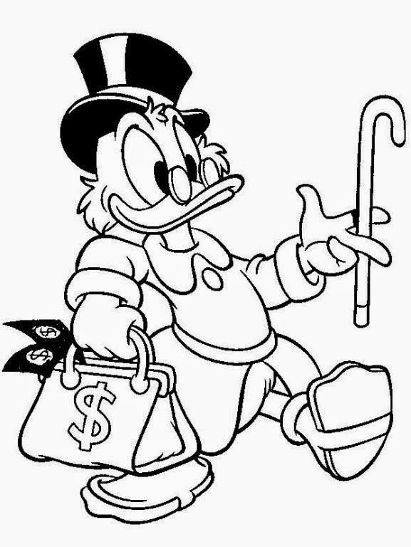 577x768 Ducktales Coloring Pages Disney Coloring