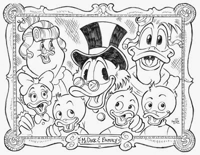 400x310 Ducktales Coloring Pages