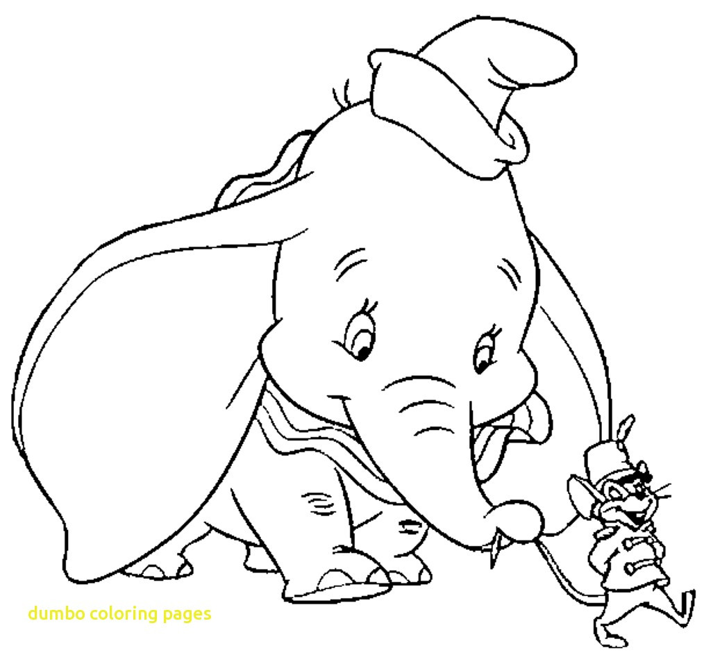 1014x940 Disney Dumbo Coloring Pages