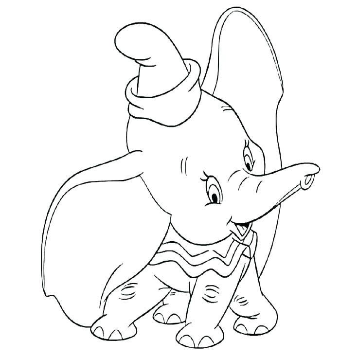 736x736 Dumbo Coloring Pages Dumbo Coloring Pages Free Best Images On Draw