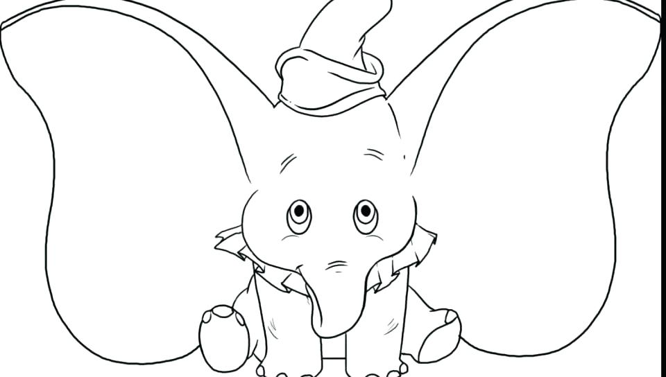 960x544 Dumbo Coloring Pages Dumbo Coloring Pages With Wallpapers Free