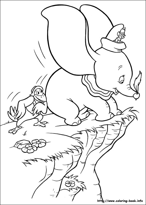 567x794 Delightful Story Of A Tiny Elephant Dumbo Dumbo Coloring Pages