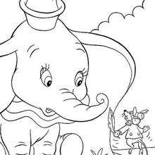 220x220 Dumbo Coloring Pages